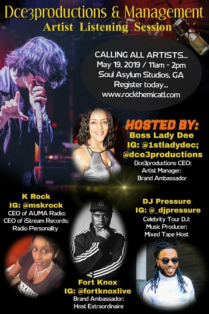 Dce3productions Indie Artist Listening Session | Makin' It