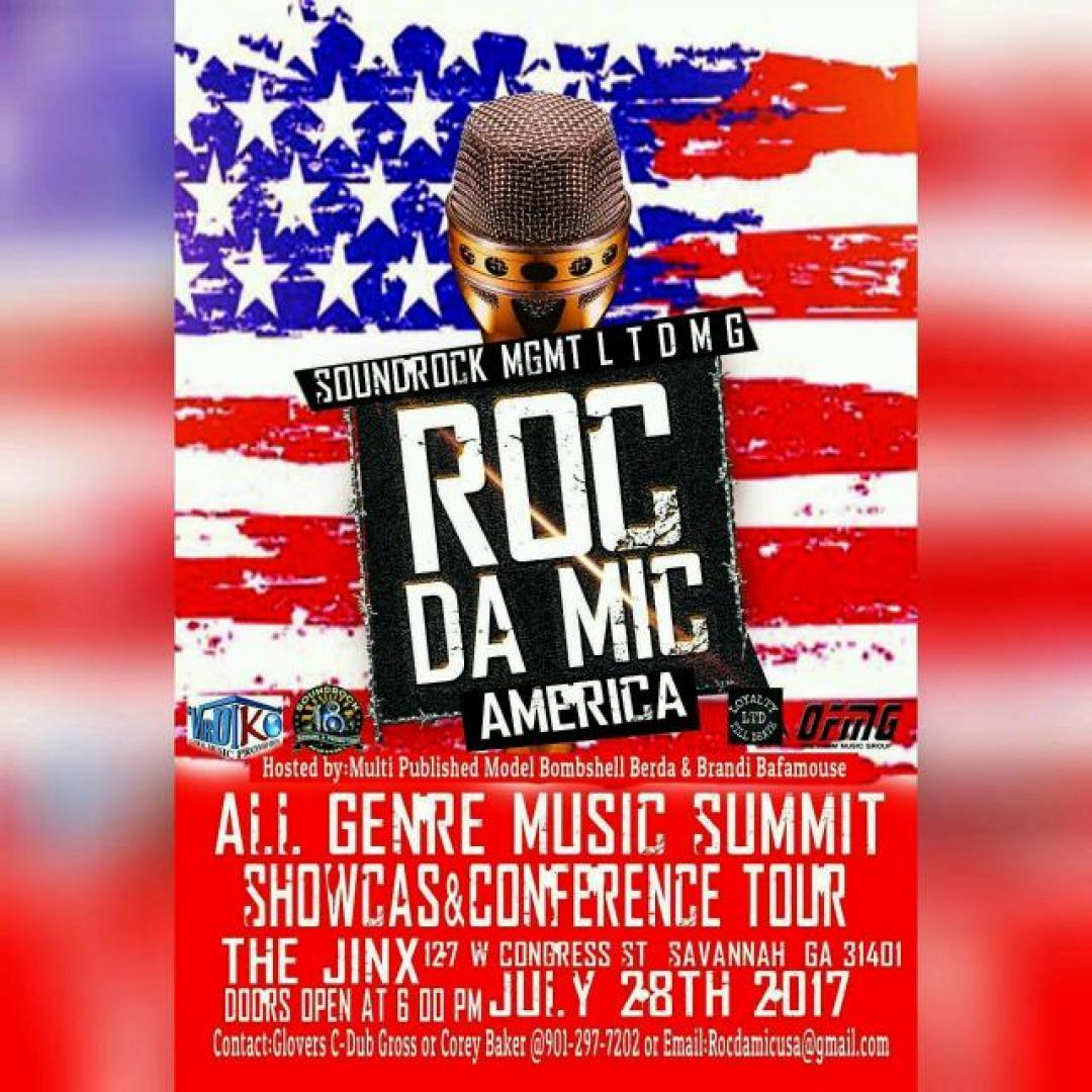 Roc Da Mic America Music Summit Showcase & Conference | Makin' It