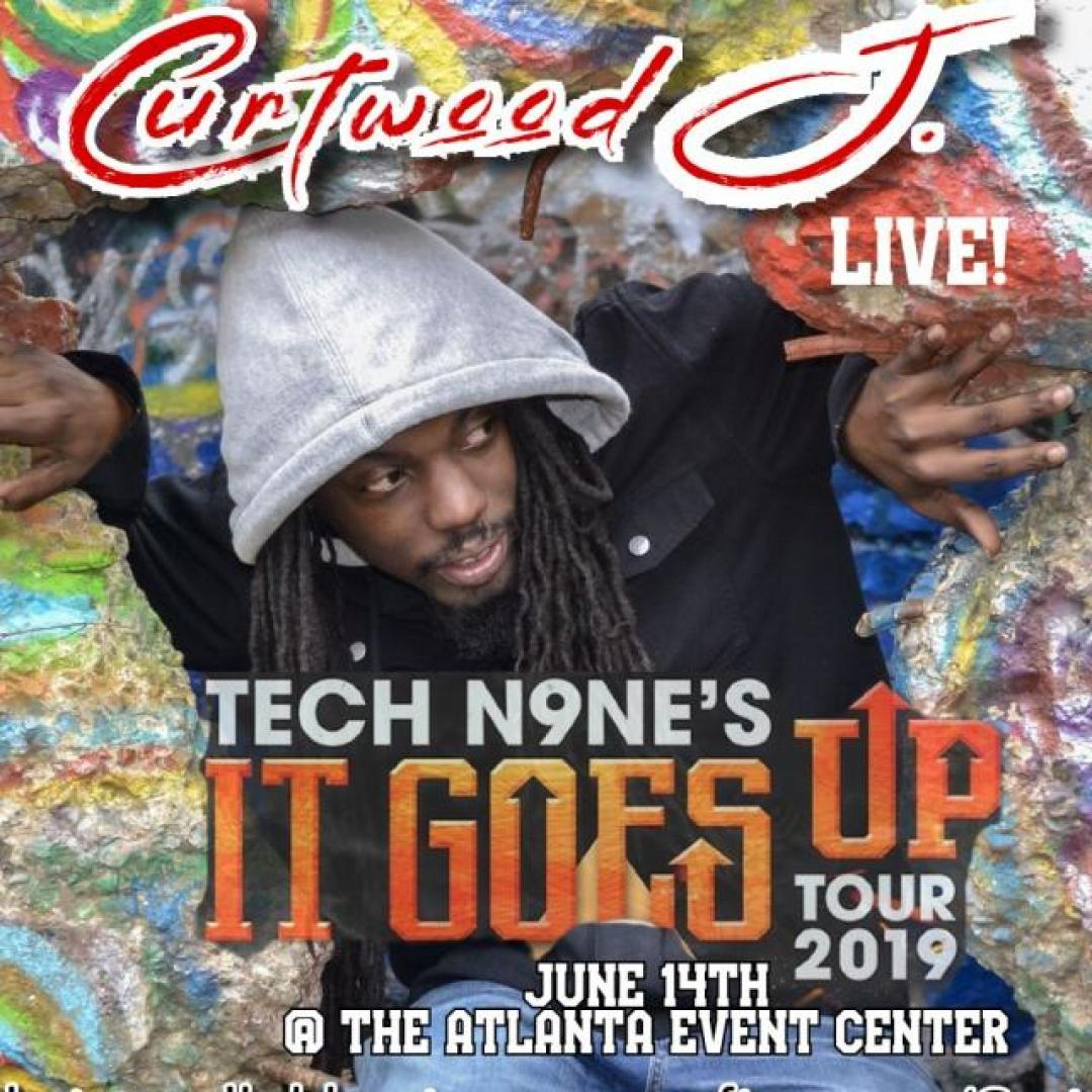 June 14th: Curtwood J  Opens up for Tech n9ne & Dax at the Atlanta