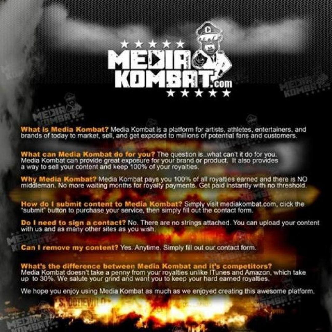 Media Kombat Distribution Platform!!!   Makin' It Magazine